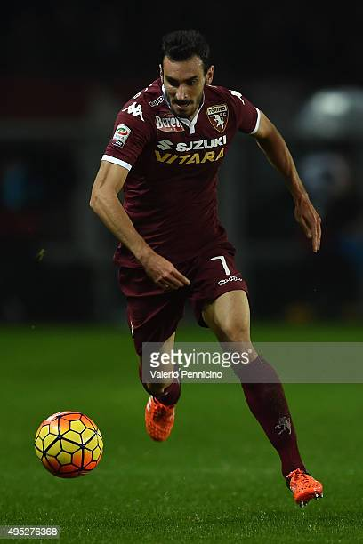 Davide Zappacosta of Torino FC in action during the Serie A match between Torino FC and Genoa CFC at Stadio Olimpico di Torino on October 28 2015 in...