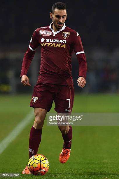 Davide Zappacosta of Torino FC in action during the Serie A match between Torino FC and Udinese Calcio at Stadio Olimpico di Torino on December 20...