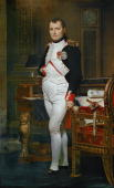 DavidJacques Louis Emperor Napoleon I Bonaparte Oil on canvas 204 x 125 cm Inv 1374 National Gallery WashingtonDC USA [Gemaelde von Napoleon I...