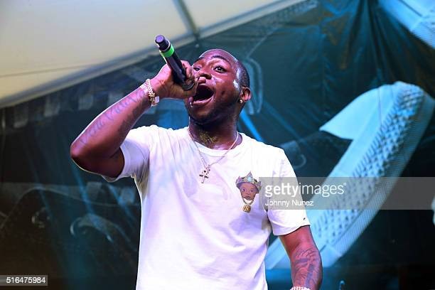 Davido Adeleke performs at Fader Fort presented by Converse at the SXSW Music Festival on March 18 2016 in Austin Texas