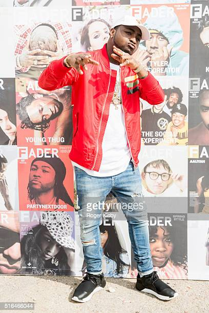 Davido attends the FADER FORT presented by Converse during SXSW on March 18 2016 in Austin Texas