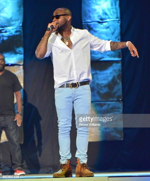 Davido Performs During the 2017 Andrew Young International Leadership awards and 85th Birthday tribute at Philips Arena on June 3 2017 in Atlanta...