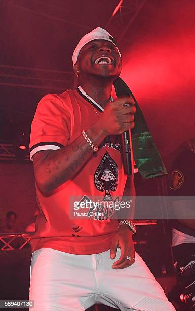 Davido performs onstage at 2016 Passport Experience Festival at Centennial Olympic Park on August 13 2016 in Atlanta Georgia
