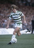 Davie Provan in action for Celtic against Aberdeen at Parkhead October 6th 1984 Celtic won 21