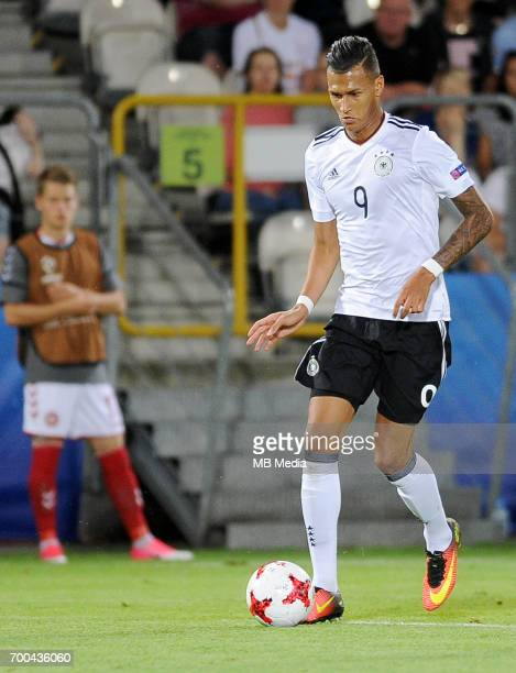 Davie Selke during the UEFA European Under21 match between Germany and Denmark at Cracovia Stadium on June 21 2017 in Krakow Poland