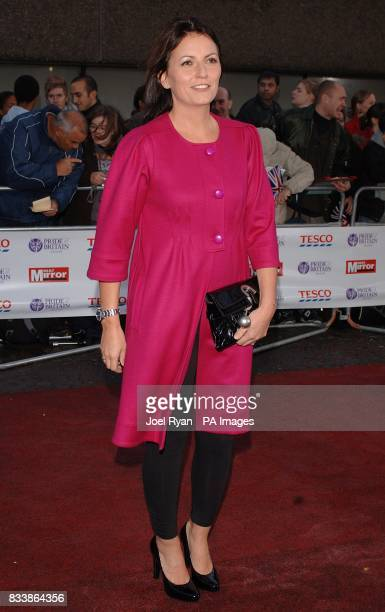 Davina McCall arrives for the Pride of Britain Awards 2007 The London Studios Upper Ground London SE1