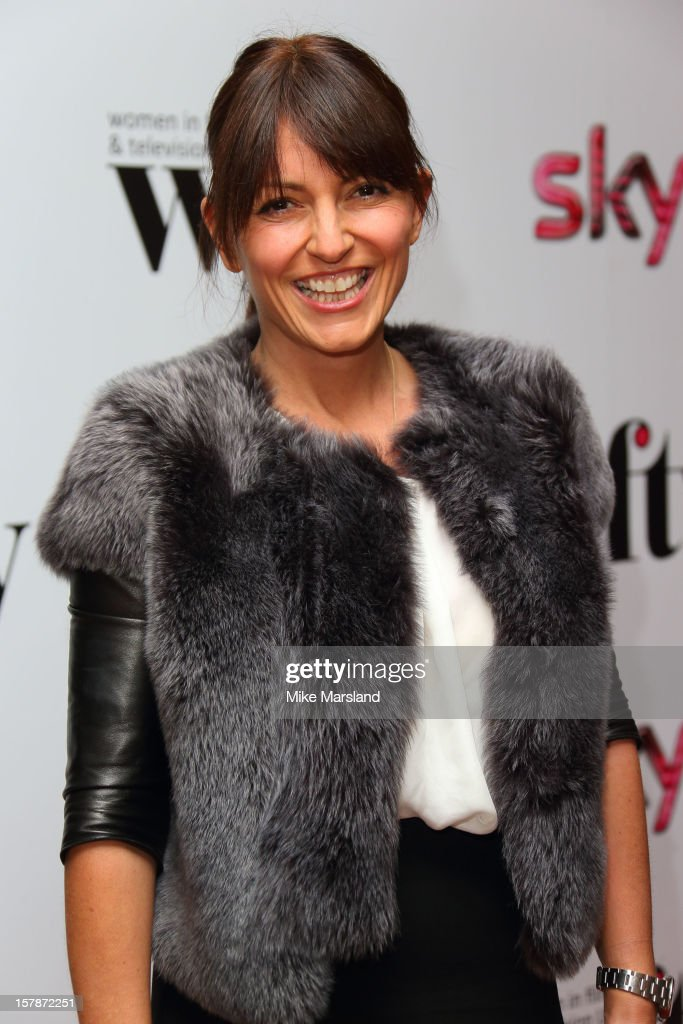 Davina McCall attends the Women in TV & Film Awards at London Hilton on December 7, 2012 in London, England.