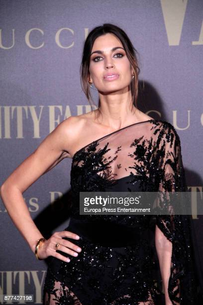 Davinia Pelegri attends the gala 'Vanity Fair Personality of the Year' to Garbine Muguruza at Ritz Hotel on November 21 2017 in Madrid Spain