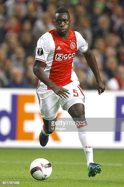 Davinson Sanchez of Ajax Amsterdamduring the UEFA Europa League group G match between Ajax Amsterdam and Celta de Vigo at the Amsterdam Arena on...