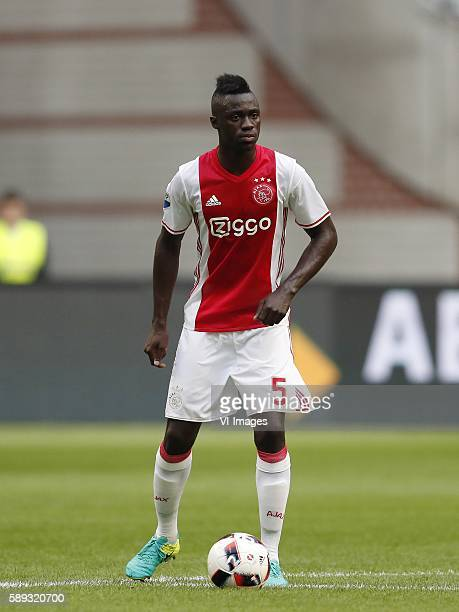 Davinson Sanchez of Ajax during the Dutch Eredivisie match between Ajax and Roda JC Kerkrade at the Amsterdam Arena on august 13 2016 in Amsterdam...