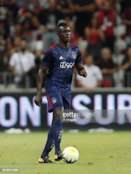 Davinson Sanchez of Ajax during the UEFA Champions League third round qualifying first leg match between OGC Nice and Ajax Amsterdam on July 26 2017...