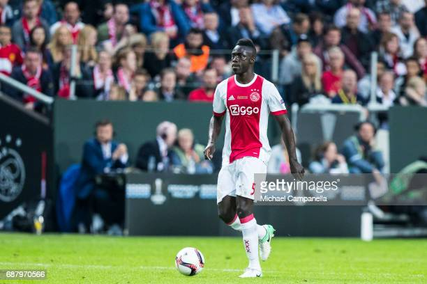 Davinson Sanchez of Ajax during the UEFA Europa League final between Ajax and Manchester United at Friends Arena on May 24 2017 in Stockholm Sweden