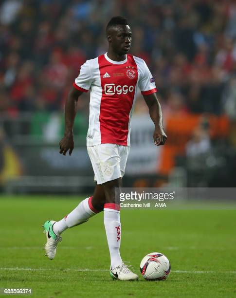 Davinson Sanchez of Ajax during the UEFA Europa League Final match between Ajax and Manchester United at Friends Arena on May 24 2017 in Stockholm...