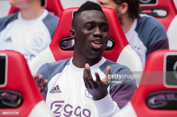 Davinson Sanchez of Ajaxduring the Dutch Eredivisie match between Ajax Amsterdam and Go Ahead Eagles at the Amsterdam Arena on May 07 2017 in...
