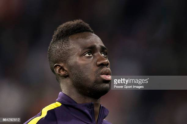 Davinson Sanchez of Tottenham Hotspur FC prior to the UEFA Champions League 201718 match between Real Madrid and Tottenham Hotspur FC at Estadio...