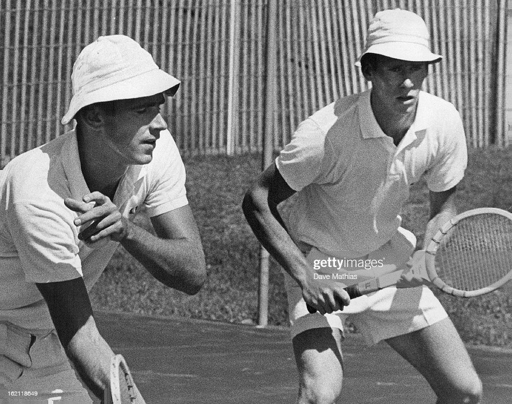 S. Davis Cuppers Intensify Tennis Drills; Marty Riessen of ...
