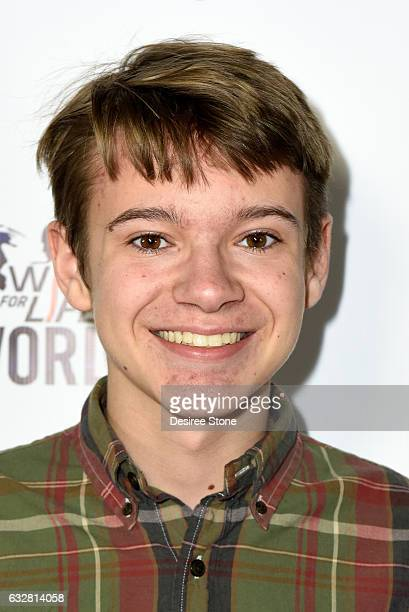 Davis Desmond attends the official launch of the EPIC Project at Cupcake Theater on January 26 2017 in Los Angeles California