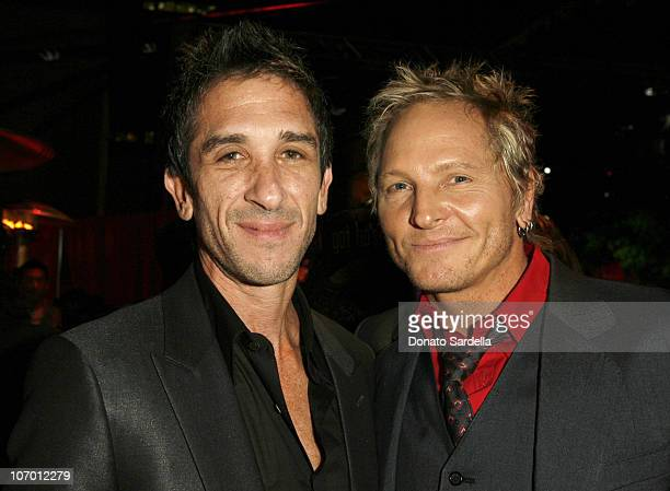 Davis Factor and Matt Sorum during Hollywood's Elite Join TMobile at an Exclusive Launch Event in Beverly Hills for the Debut of Two New Limited...