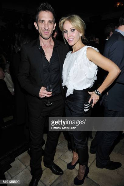 Davis Factor Brooke Davenport attend NICOLAS BERGGRUEN's 2010 Annual Party at the Chateau Marmont on March 3 2010 in West Hollywood California