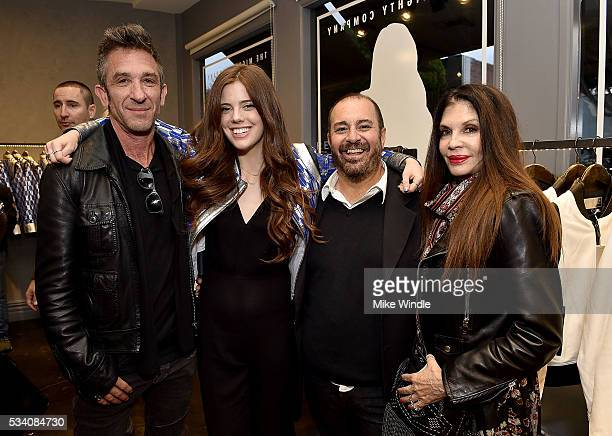 Davis Factor Jessie Willner Michael Baruch and Loree Rodkin attend The Mighty Company launch at Shop Curve on May 24 2016 in Los Angeles California