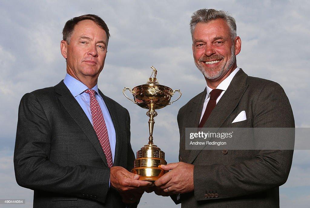 Ryder cup trophy presentation national championship