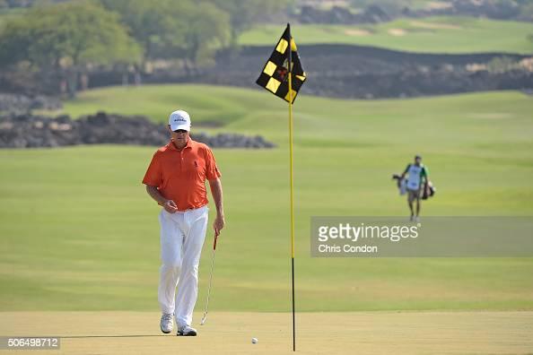KA'UPULEHUKONA HI JANUARY 23 Davis Love III walks to the 3rd green during the final round of the PGA TOUR Champions Mitsubishi Electric Championship...