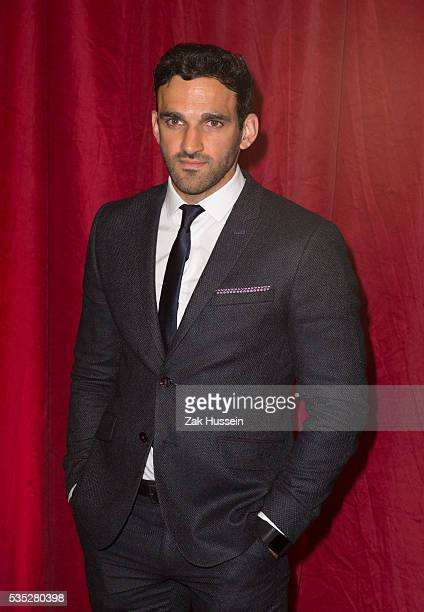 Davood Ghadami arrives for British Soap Awards 2016 at Hackney Empire on May 28 2016 in London England