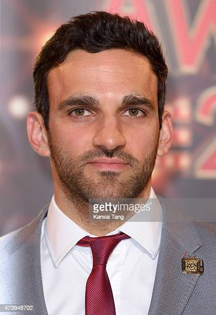 Davood Ghadami attends the British Soap Awards at Manchester Palace Theatre on May 16 2015 in Manchester England