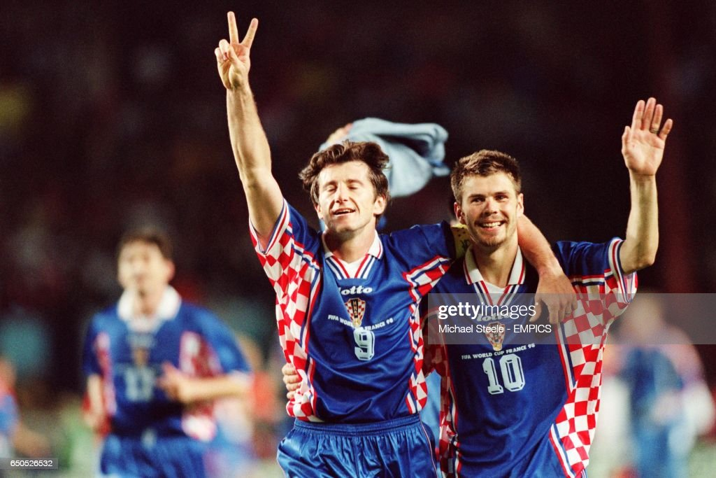 Soccer - World Cup France 98 - Third Place Play-Off - Holland v Croatia : News Photo