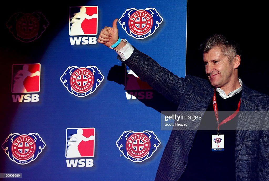 Davor Suker during the World Series of Boxing between British Lionhearts and Astana Arlans Kazakhstan on February 7, 2013 in London, England.
