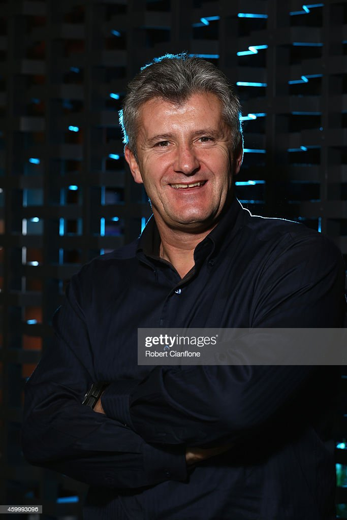 <a gi-track='captionPersonalityLinkClicked' href=/galleries/search?phrase=Davor+Suker&family=editorial&specificpeople=235899 ng-click='$event.stopPropagation()'>Davor Suker</a> poses during a Global Legends Series portrait session at the Swissotel on December 5, 2014 in Bangkok, Thailand.