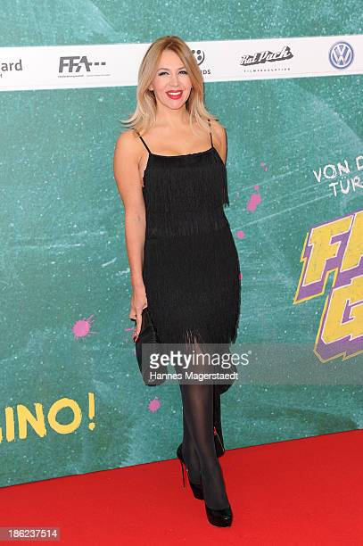 Davorka Tovilo attend the premiere of the film 'Fack Ju Goehte' on October 29 2013 in Munich Germany