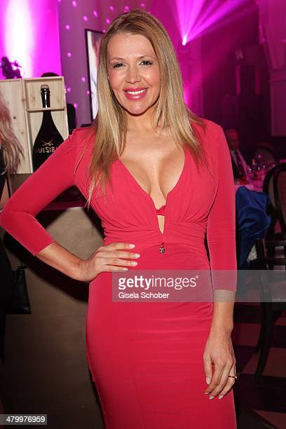 Davorka Tovilo attends the AMREF Charity Gala 'Come Fly With Us' at Rilano No 6 on March 21 2014 in Munich Germany