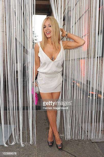 Davorka Tovilo attends the Movie Meets Media party at P1 on June 28 2010 in Munich Germany
