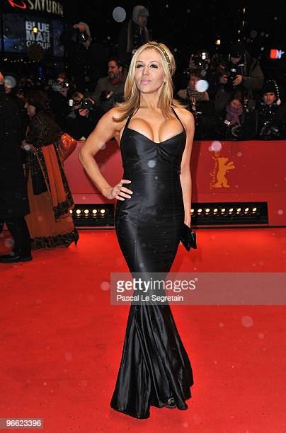 Davorka Tovilo attends the 'My Name Is Khan' Premiere during day two of the 60th Berlin International Film Festival at the Berlinale Palast on...