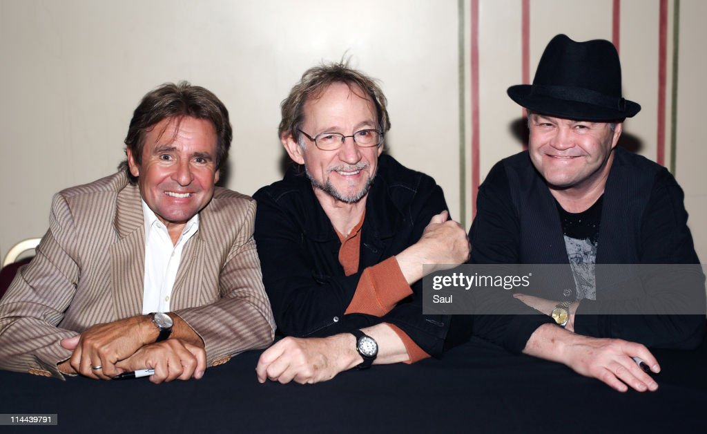 Davy Jones Peter Tork and Micky Dolenz of The Monkees at Royal Albert Hall on May 19 2011 in London United Kingdom