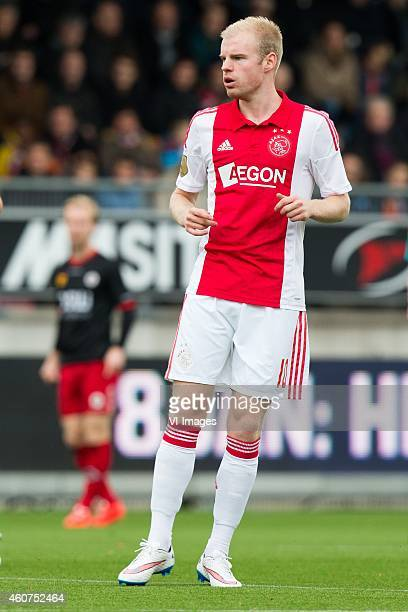 Davy Klaassen of Ajax during the Dutch Eredivisie match between Excelsior Rotterdam and Ajax Amsterdam at Woudenstein stadium on December 21 2014 in...