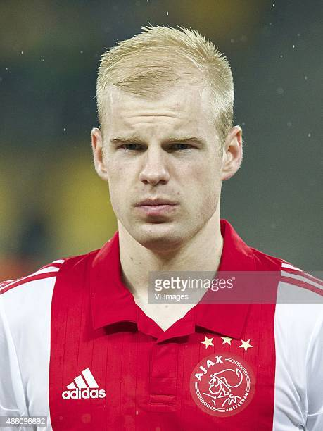 Davy Klaassen of Ajax during the Europa League round of 16 match between FC Dnipro Dnipropetrovsk and Ajax on March 11 2015 at the NSK Olimpiyskyi...