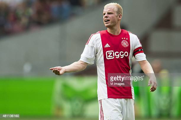 Davy Klaassen of Ajax during the preseason friendly match between Ajax Amsterdam and VfL Wolfsburg on July 17 2015 at the Amsterdam Arena at...