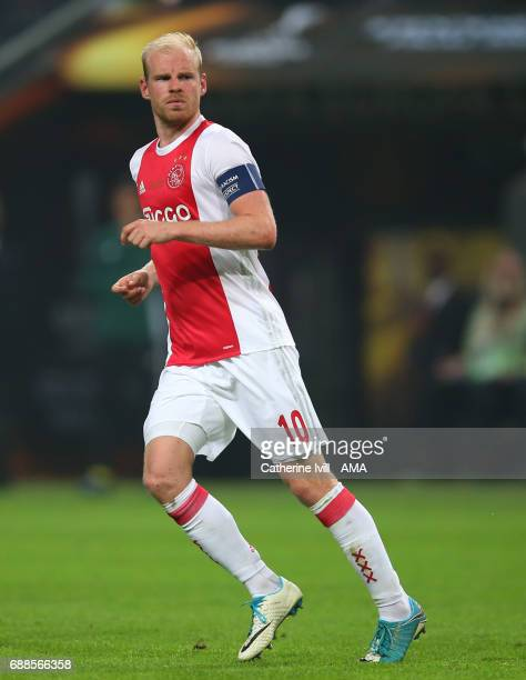 Davy Klaassen of Ajax during the UEFA Europa League Final match between Ajax and Manchester United at Friends Arena on May 24 2017 in Stockholm Sweden