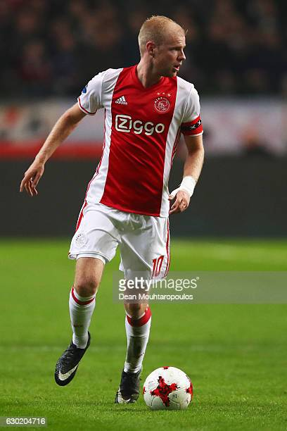 Davy Klaassen of Ajax in action during the Eredivisie match between Ajax Amsterdam and PSV Eindhoven held at Amsterdam Arena on December 18 2016 in...