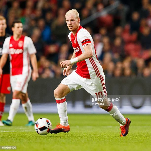 Davy Klaassen of Ajaxduring the Dutch Eredivisie match between Ajax Amsterdam and sbv Excelsior at the Amsterdam Arena on October 29 2016 in...