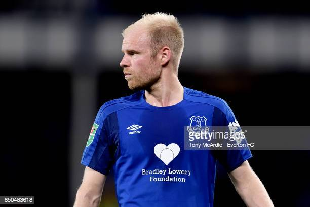 Davy Klaassen of Everton during the Carabao Cup Third Round match between Everton and Sunderland at Goodison Park on September 20 2017 in Liverpool...