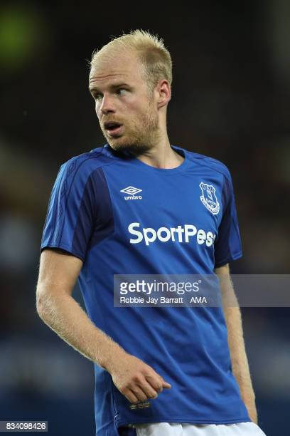 Davy Klaassen of Everton during the UEFA Europa League Qualifying PlayOffs round first leg match between Everton FC and Hajduk Split at Goodison Park...