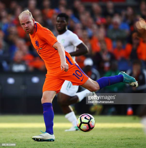 Davy Klaassen of the Netherlands in action during the International Friendly match between the Netherlands and Ivory Coast held at De Kuip or Stadion...