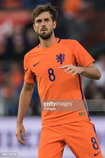 Davy Propper of The Netherlandsduring the friendly match between The Netherlands and Ivory Coast at the Kuip on June 4 2017 in Rotterdam The...