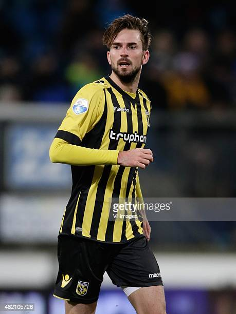 Davy Propper of Vitesse during the Dutch Eredivisie match between SC Heerenveen and Vitesse at the Abe Lenstra stadium on january 20 2015 in...