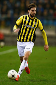Davy Propper of Vitesse in action during the Dutch Eredivisie match between Vitesse Arnhem and AZ Alkmaar held at Gelredome on March 13 2015 in...