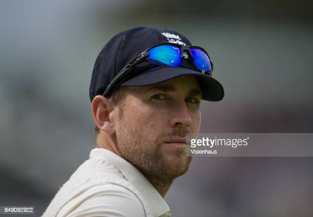 Dawid Malan of England during Day One of the 3rd Investec Test Match between England and West Indies at Lord's Cricket Ground on September 7 2017 in...