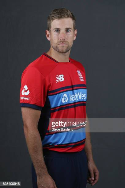 Dawid Malan of England poses for a portrait ahead of the Twenty20 International between England and South Africa at Ageas Bowl on June 20 2017 in...